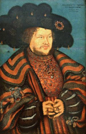 Joachim I. und Martin Luther