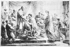 Das erste offizielle evangelische Abendmahl (1. November 1539)