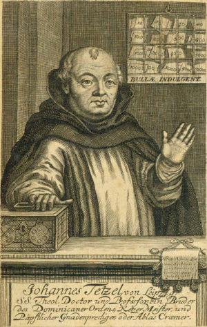 Johannes Tetzel in Berlin (1517)