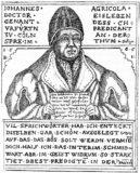 Hofprediger und Generalsuperintendent Johannes Agricola