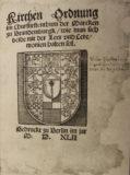 Die brandenburgische Kirchenordnung (1540)